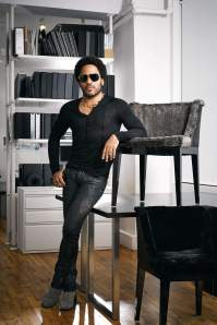 """I do what feels right organically,"" says Kravitz, photographed Aug. 22 by Douglas Friedman at the Kravitz Design studio in New York. (From http://www.hollywoodreporter.com/news/queen-latifah-why-lenny-kravitz-624760)"